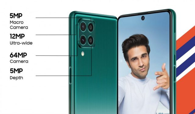 Samsung Galaxy F62 характеристики камеры